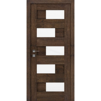 Двери Rodos Modern Verona каштан темный Renolit