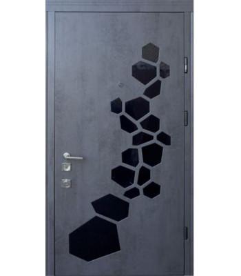 Входная дверь STANDART + Insula 96 правая