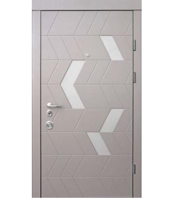 Двери Qdoors АВАНГАРД Конверс амаретто/грей софт