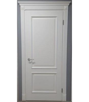 Двери межкомнатные Омега BRAVO Милан ПГ белый ( с штапиком )