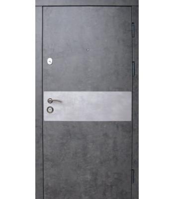 Двери входные REDFORT Премиум Грей мрамор/бетон (квартира)