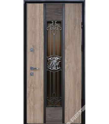 Двери Страж Пруф Nominal с инициалами владельца!
