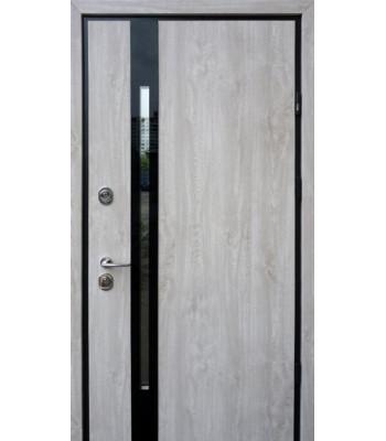 Двери STRAJ PROOF SliM Z дуб полярный Терморазрыв на полотне и коробке