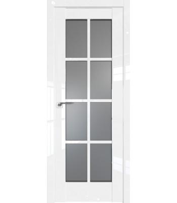 Двери межкомнатные GRAZIO 101 L Белый люкс ЦЕНА ЗА БЛОК