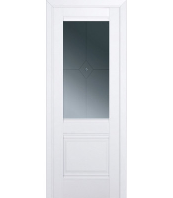 Двери межкомнатные GRAZIO 2U Аляска белый мат ЦЕНА ЗА БЛОК