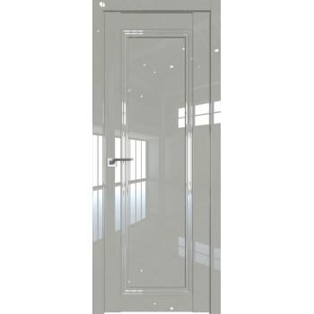Двери межкомнатные GRAZIO 2.100 L галька люкс глянец ЦЕНА ЗА БЛОК