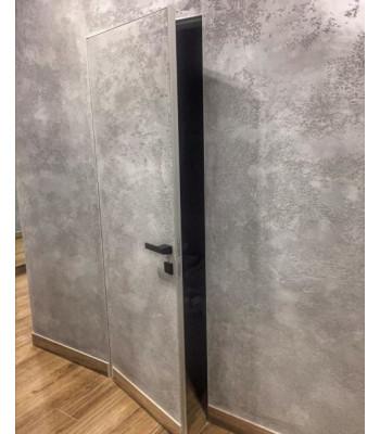 Двери скрытого монтажа Rodos Cortes Prima Alum финиш грунт ПГ под штукатурку