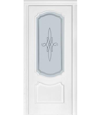 Двери Новый Стиль Рока патина стекло Р1