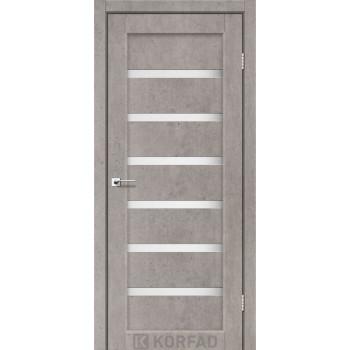 Межкомнатные двери KORFAD Porto PR-01 лайт бетон