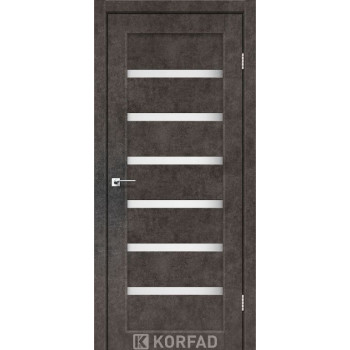Межкомнатные двери KORFAD Porto PR-01 лофт бетон