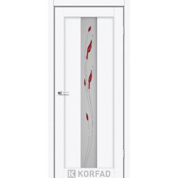 Межкомнатные двери KORFAD Porto PR-10 ясень белый с рисунком