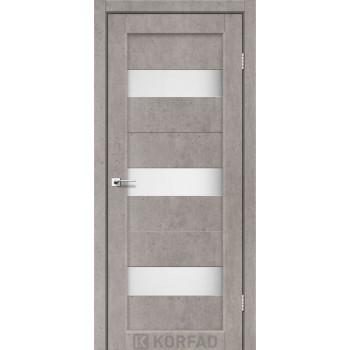 Межкомнатные двери KORFAD Porto PR-11лайт бетон