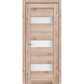 Межкомнатные двери KORFAD Porto PR-11 дуб тобако