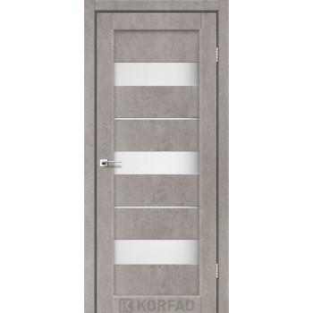 Межкомнатные двери KORFAD Porto PR-12 лайт бетон