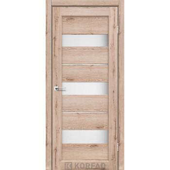 Межкомнатные двери KORFAD Porto PR-12 дуб тобакко