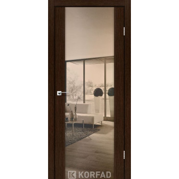 Межкомнатные двери KORFAD SANREMO SR-01венге ЗЕРКАЛО