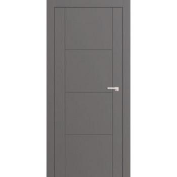 Двери межкомнатные Омега Lines F 2 цвет по RAL