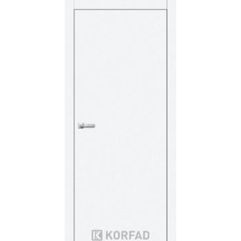 Межкомнатные двери KORFAD LOFT PLATO LP-01 белый перламутр