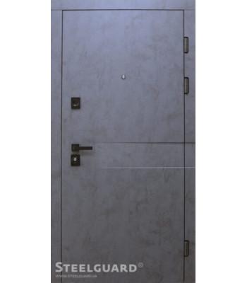 "Двери  ""Steelguard"" MAXIMA REMO двухцветная"