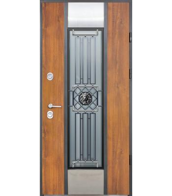 Двери Страж Пруф Leon Терморазрыв на полотне и коробке