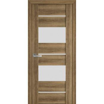 Двери Новый Стиль Аскона бук шато стекло сатин