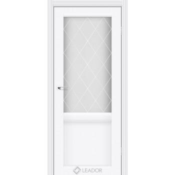 Двери Leador Laura LR-01 белый матовый