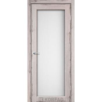 Межкомнатные двери KORFAD SANVITO SV-01 дуб нордик стекло сатин
