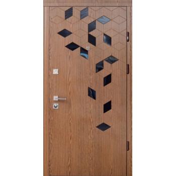 Двери Страж Стандарт Diamant Folio + акрил