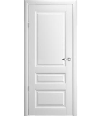Межкомнатные двери Albero Эрмитаж-2 глухое Vinil белый
