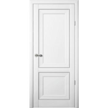 Межкомнатные двери Albero Прадо глухое Vinil белый