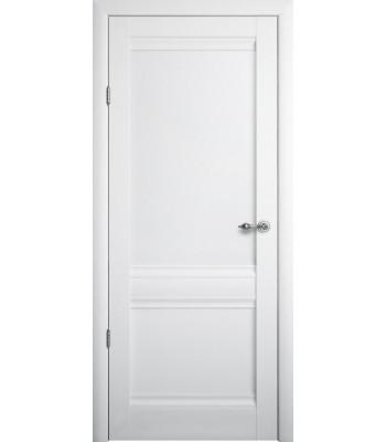 Межкомнатные двери Albero Рим глухое Vinil белый
