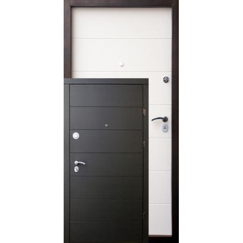 Двери входные Форт Горизонталь Премиум (квартира)