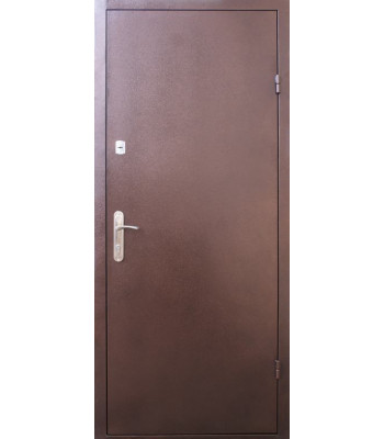 Входные двери Форт  Метал/Метал медь антик