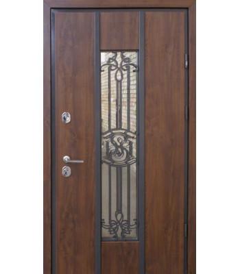 Двери STRAJ PROOF Nominal темный дуб Терморазрыв на полотне и коробке