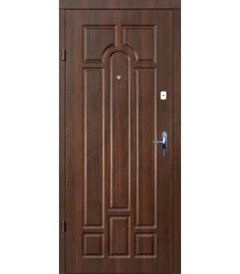 Входные двери Форт Эконом Классик орех темный КВАРТИРА