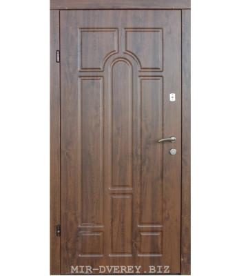Входные двери Форт Трио Классик орех УЛИЦА