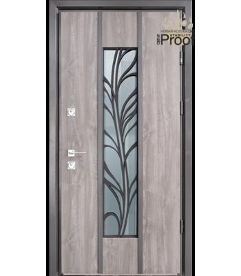 Двери Страж Пруф Calibri дуб серый