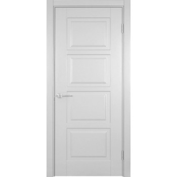 Двери Rio Фиеста-4 Woodok белая эмаль глухое