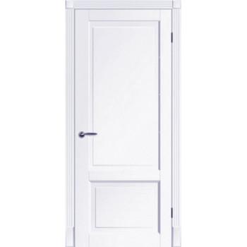 Двери Tesoro К1 ПГ Woodok белая эмаль глухое