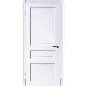 Двери Tesoro К2 ПГ Woodok белая эмаль глухое