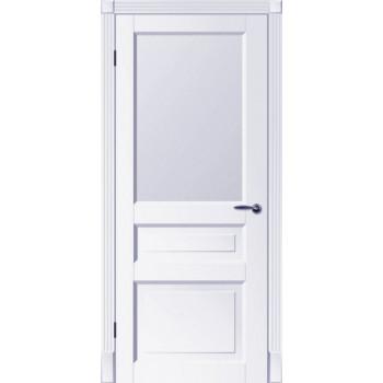 Двери Tesoro К2 ПО Woodok белая эмаль
