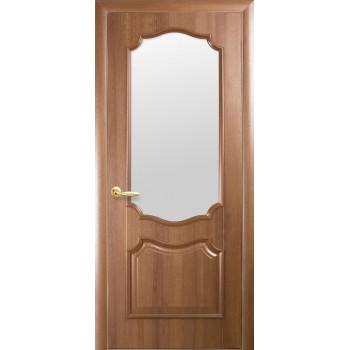 Двери Новый Стиль Рока стекло сатин ольха