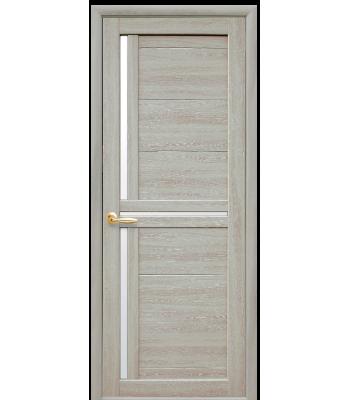 Двери Новый Стиль Тринити экошпон Ясень Патина