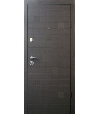 Двери Qdoors эталон Каскад венге серый горизонт
