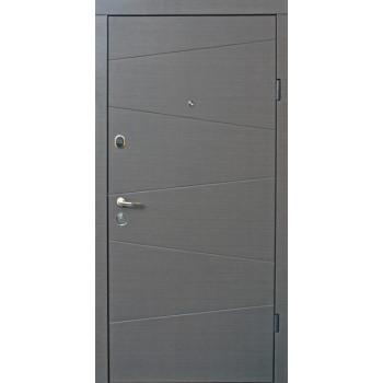 Двери Qdoors эталон Нео венге серый горизонт