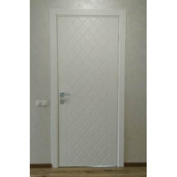 Двери Rodos CORTES Tango белая эмаль глухое