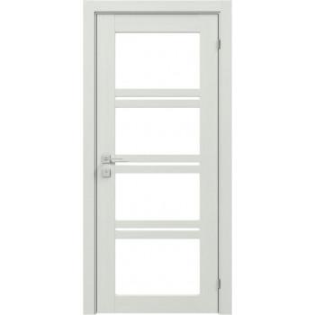 Двери Rodos Modern Quadro полустекло сосна крем
