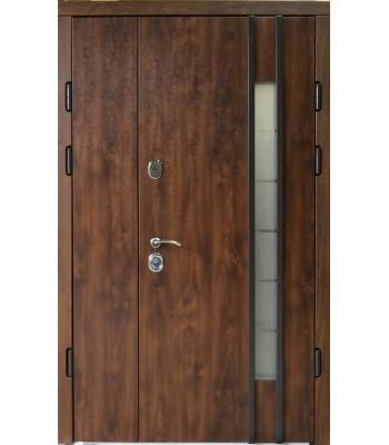 Двери входные REDFORT Эталон Авеню со стеклопакетом УЛИЦА 120*205