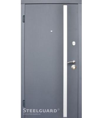 """Двери """"Steelguard"""" AV-1 антрацит Улица"""