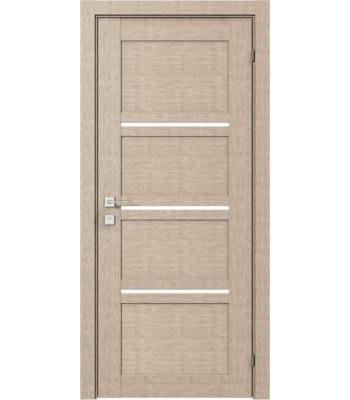 Двери Rodos Modern Quadro полустекло крем